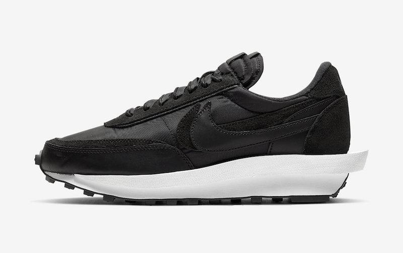 sacai-Nike-LDWaffle-Black-Nylon