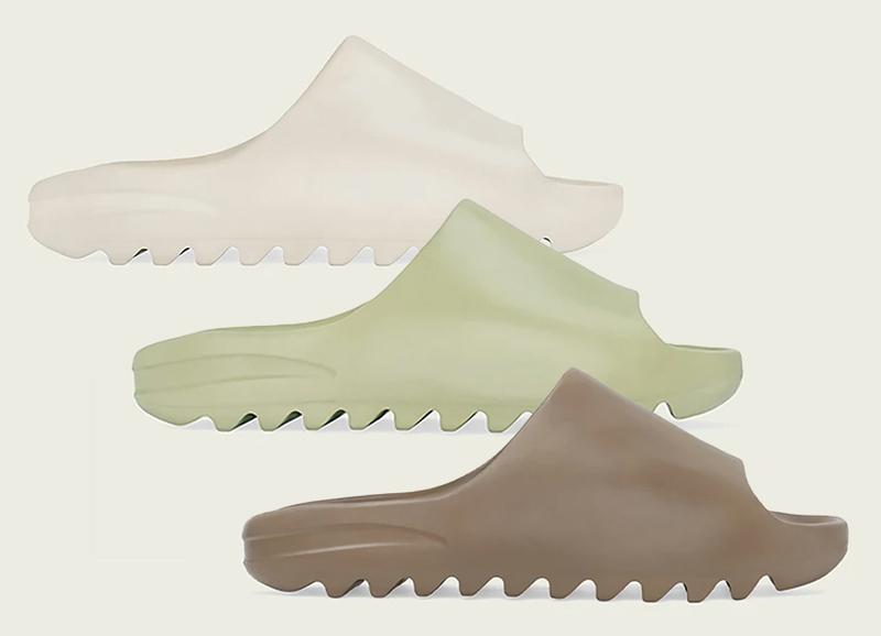 adidas-Yeezy-Slides-Earth-Brown-FV8425-Resin-FX0494-Bone-FW6345