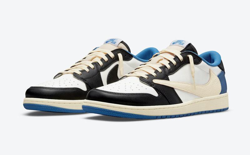 Travis Scott Fragment Air Jordan 1 Low DM7866-140 Release Date Pricing