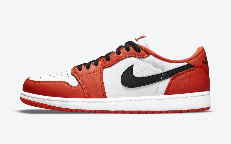 Air Jordan 1 Low Orange CZ0790-801 Release Date