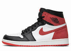 JORDAN 1 RETRO HIGH OG TRACK RED