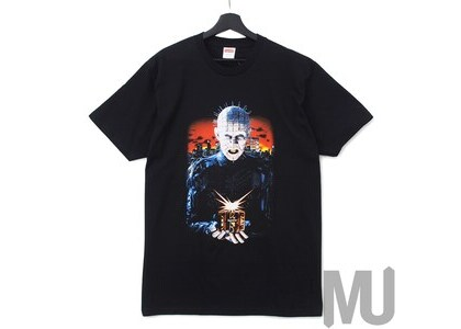 Supreme Hellraiser Hell on Earth Tee Blackの写真