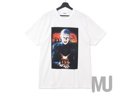 Supreme Hellraiser Hell on Earth Tee Whiteの写真