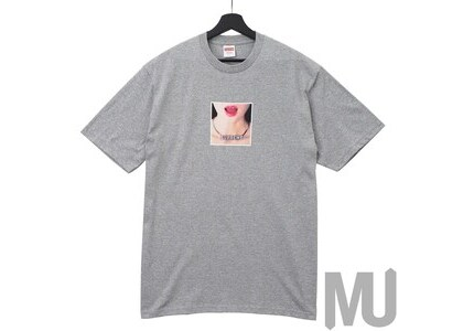 Supreme Necklace Tee Heather Greyの写真