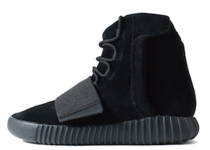 Adidas Yeezy Boost 750 Triple Blackの写真