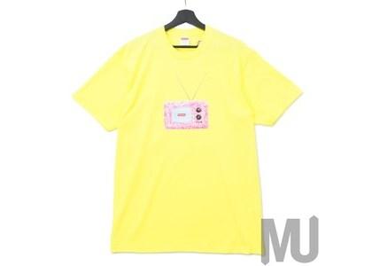 Supreme TV Tee Bright Yellowの写真