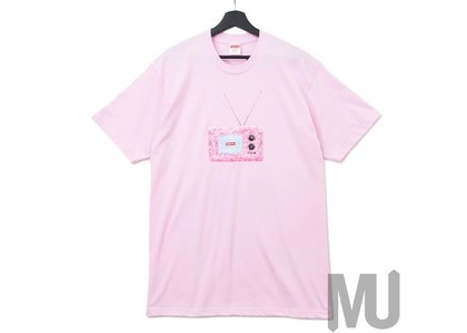 Supreme TV Tee Light Pinkの写真