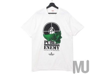 Supreme UNDERCOVER Public Enemy Terrordome Tee Whiteの写真