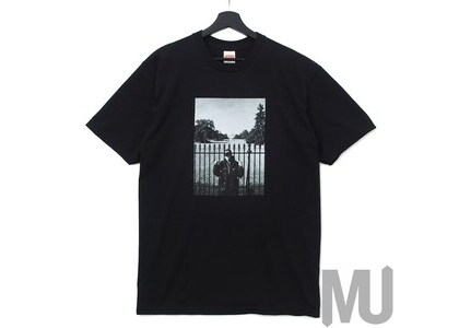 Supreme UNDERCOVER Public Enemy White House Tee Blackの写真