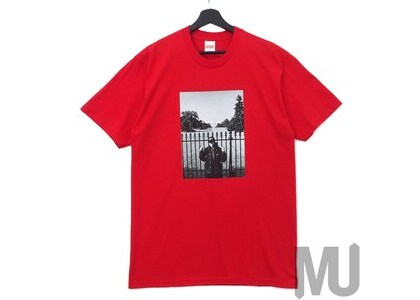Supreme UNDERCOVER Public Enemy White House Tee Redの写真