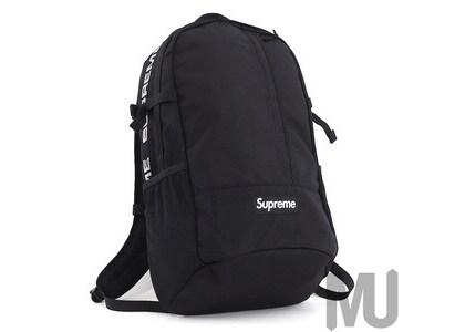 Supreme (SS18) Backpack Blackの写真