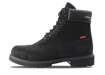 """Supreme x Comme des Garcons × Timberland 6 Boot Black ""の写真"