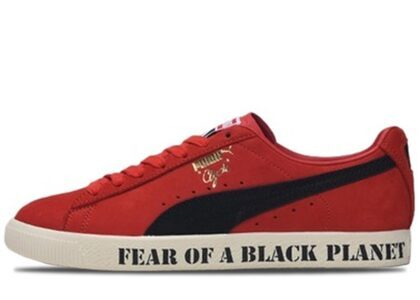 Public Enemy × Puma Clyde High Risk Red 20SP-Sの写真
