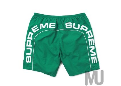 Supreme Arc Logo Water Short Greenの写真