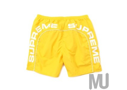 Supreme Arc Logo Water Short Yellowの写真