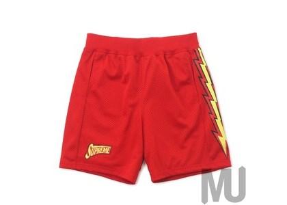 Supreme Bolt Basketball Short Redの写真