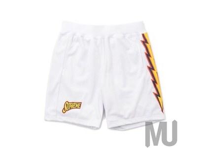 Supreme Bolt Basketball Short Whiteの写真