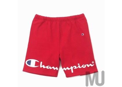 Supreme Champion Sweatshort Redの写真