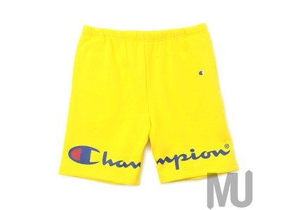 Supreme Champion Sweatshort Yellowの写真