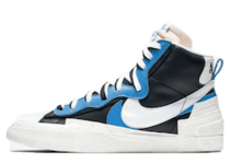 Nike Blazer Mid sacai White Black Legend Blueの写真