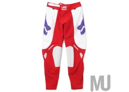 Supreme Fox Racing Moto Pant Redの写真