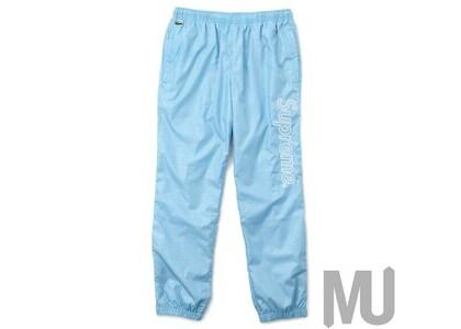 Supreme LACOSTE Reflective Grid Nylon Track Pant Blueの写真