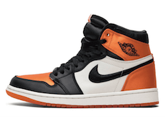 JORDAN 1 SATIN SHATTERED BACKBOARDの写真