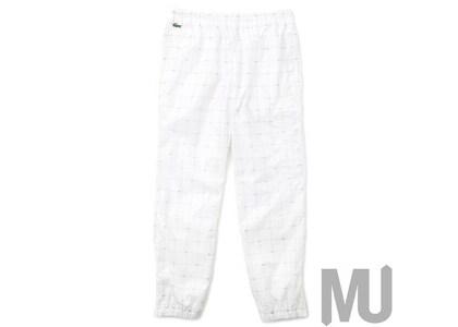 Supreme LACOSTE Reflective Grid Nylon Track Pant Whiteの写真