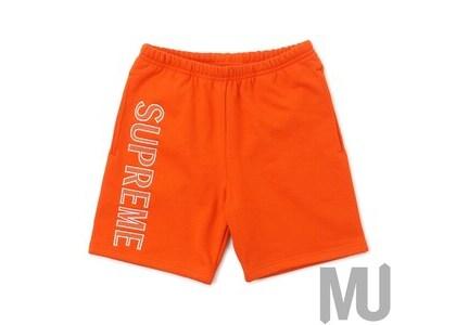 Supreme Leg Embroidery Sweatshort Dark Orangeの写真