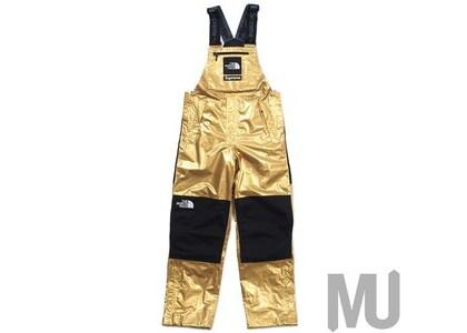 Supreme The North Face Metallic Mountain Bib Pants Goldの写真