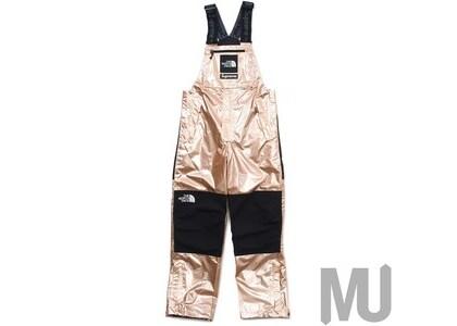 Supreme The North Face Metallic Mountain Bib Pants Rose Goldの写真