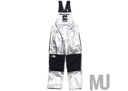 Supreme The North Face Metallic Mountain Bib Pants Silverの写真