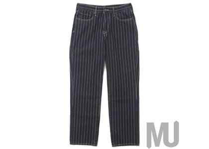 Supreme Levi's Pinstripe 550 Jeans Blackの写真
