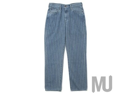 Supreme Levi's Pinstripe 550 Jeans Blueの写真