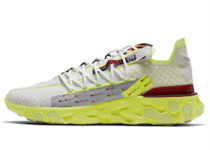 Nike React Runner ISPA Platinum Tint Volt Glow Team Redの写真