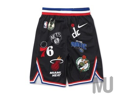 Supreme Nike NBA Teams Authentic Short Blackの写真