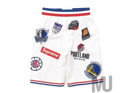 Supreme Nike NBA Teams Authentic Short Whiteの写真