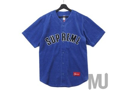 Supreme Corduroy Baseball Jersey Dusty Purpleの写真