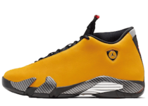 Nike Air Jordan 14 Retro Ferrari University Goldの写真