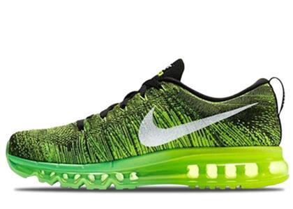 Nike Flyknit Max Voltage Greenの写真