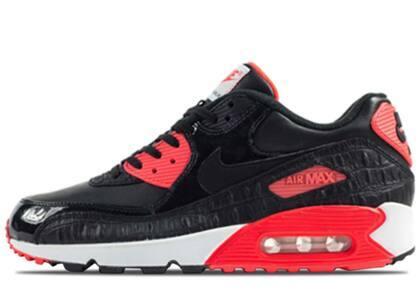 Nike Air Max 90 Black Croc Infraredの写真