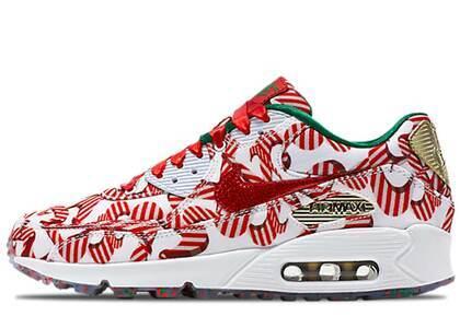 Nike Air Max 90 Candy Cane Christmas 2015 Womensの写真