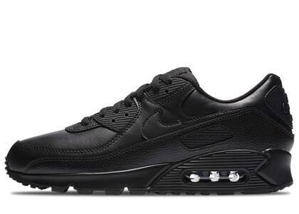 Nike Air Max 90 Leather Triple Black (GS)の写真
