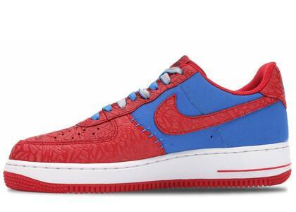 Nike Air Force 1 Low Photo Blue Hyper Redの写真