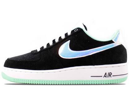 Nike Air Force 1 Low Black Green Glowの写真