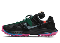 Off-White × Nike Air Zoom Terra Kiger 5 Womens Blackの写真