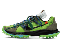 Off-White × Nike Air Zoom Terra Kiger 5 Womens Greenの写真