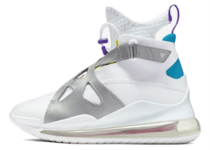 Nike Air Jordan Air Latitude 720 White Aqua Womensの写真
