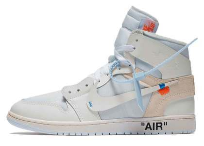 Off-White × Nike Air Jordan 1 Retro High NRG White (EU Exclusive)の写真