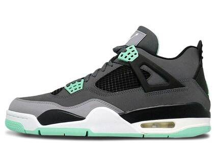 Nike Air Jordan 4 Retro Green Glowの写真